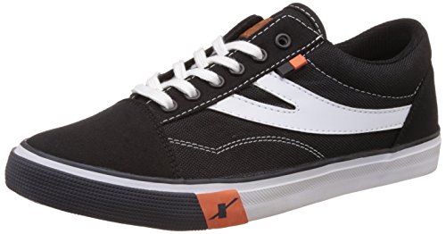 Sparx Men's  Black and White Sneakers – 9 UK/India (43 EU)(SC0252)