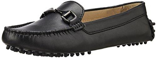 Hidesign Women's Ingrid Black Leather Loafers and Mocassins – 6 UK