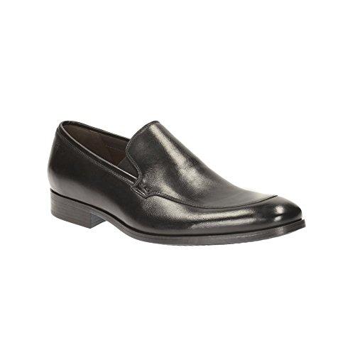 Clarks Men's Banfield Step Black Clogs and Mules – 10 UK/India (44.5 EU)