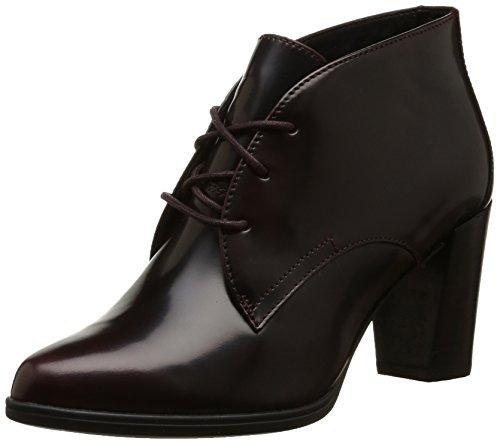 Clarks Women's Kadri Alexa Burgundy Leather Boots – 7 UK
