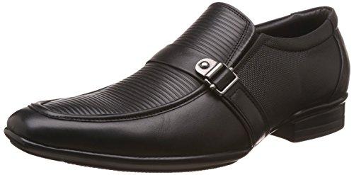 BATA Men's Jerry Black Leather Formal Shoes – 10 UK/India (44 EU)(8546312)