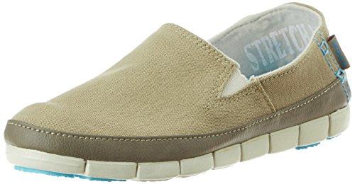 Crocs Women's Khaki and Stucco Loafers and Mocassins – W8