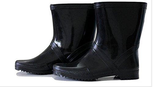 WONDER Men's Black Other Boots (wonder8) – 8