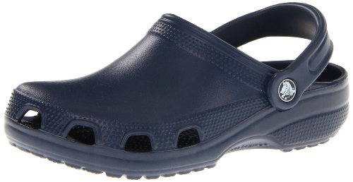 Crocs Unisex Relief Navy Rubber Flip-Flops and House Slippers- M11