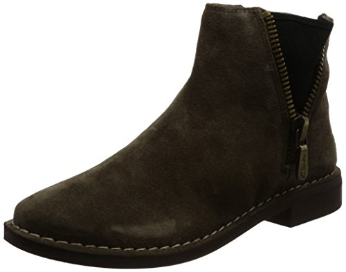 Clarks Women's Cabaret Ruby Beige Boots – 4 UK/India (37 EU)