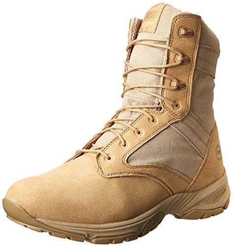 Timberland PRO Men s 8 Valor Soft-Toe Tan Duty Boot Desert Tan With Textile 11 D(M) US