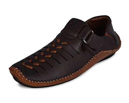 Shop Smart Causal Loafers Shoes For men (Brown,Size-10)