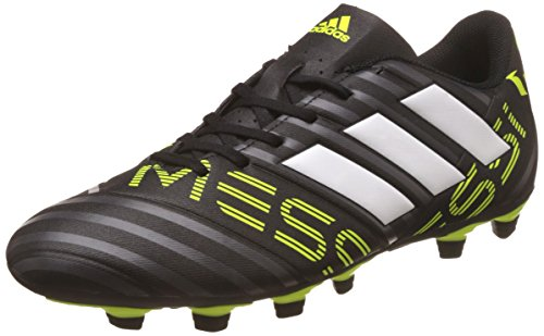 Adidas Men's Nemeziz Messi 17.4 Fxg Cblack/Ftwwht/Syello Football Boots – 11 UK/India (46 EU)