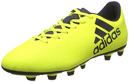 Adidas Men's X 17.4 Fxg Syello/Legink/Legink Football Boots – 8 UK/India (42 EU)