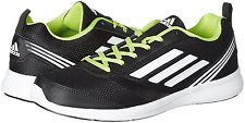 adidas Men's Adiray M Black, White and Yellow Running Shoes – 9 UK