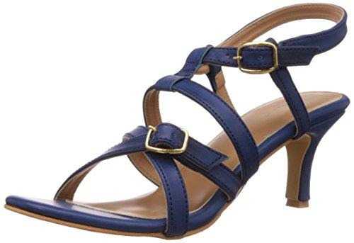 Bata Women's Adriana Blue Fashion Sandals – 3 UK/India (36 EU)(7619137)