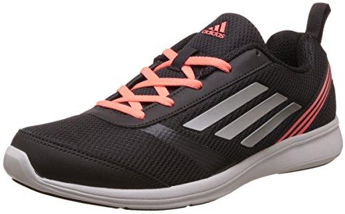 adidas Women's Adiray W Utiblk, Silvmt and Sunglo Running Shoes – 4 UK/India (36.67 EU)