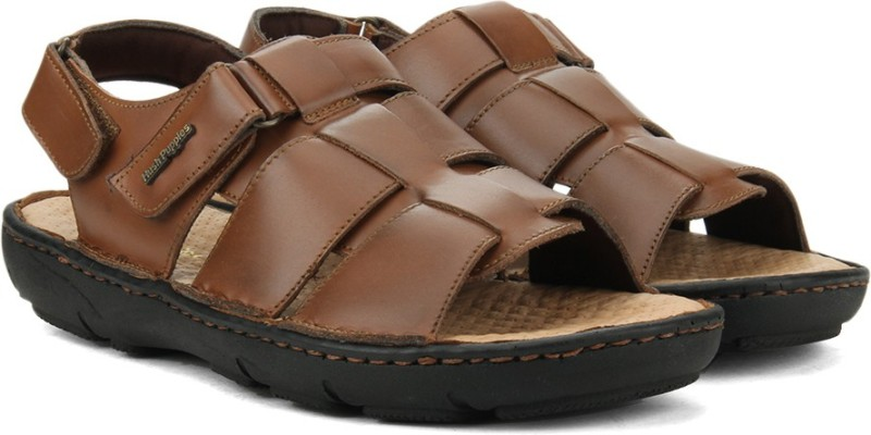 Hush Puppies Men Tan Light Brown Sports Sandals