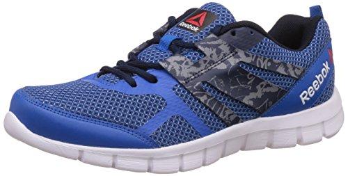 Reebok Men's Speed Xt Running Shoes, Blue, Navy, Grey and White – 10 UK/India (44.5 EU)(11 US)