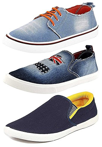 Ethics Perfect Combo Pack of 3 Stylish Sneaker Shoes for Men (9)