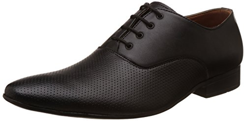 Auserio Men's Black Formal Shoes – 9 UK/India (43 EU)(SS 917)