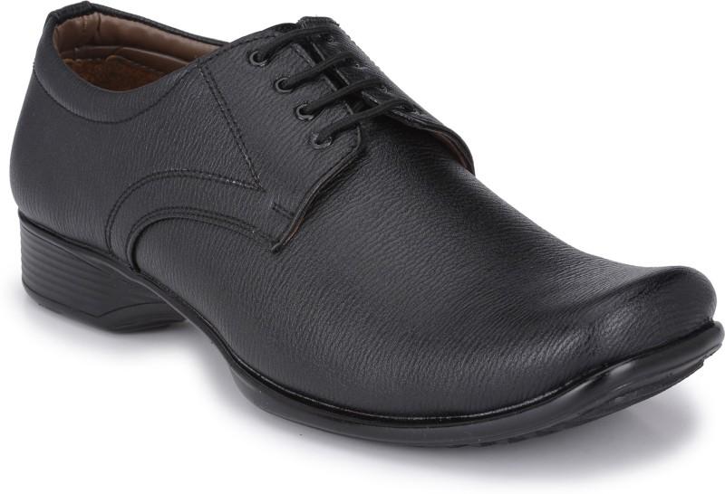 John Karsun Jumbo Lace Up Shoes(Black)