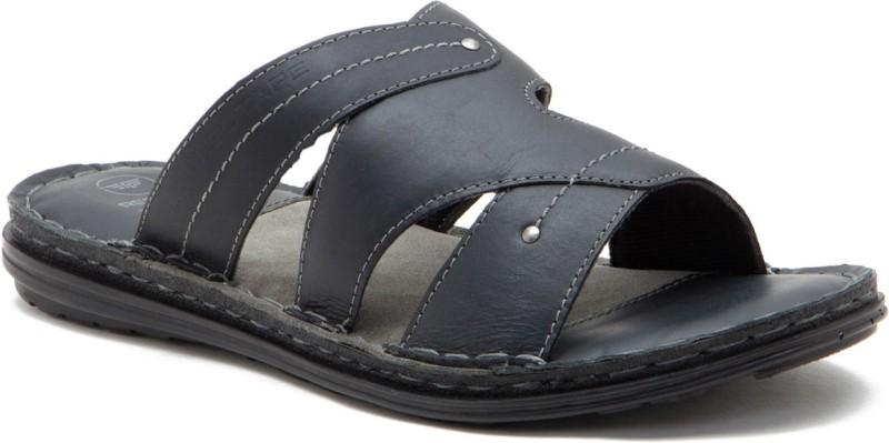 Red Tape Men BLACK Sports Sandals