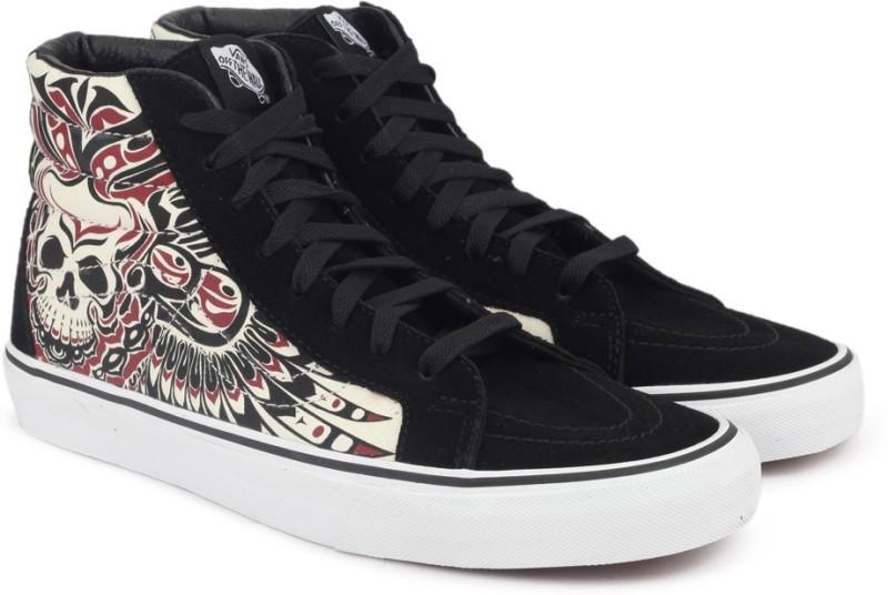 Vans SK8-Hi Reissue High Ankle Sneakers(Black)