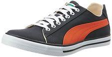 Puma Unisex Hip Hop 5 Idp Asphalt and Orange Sneakers – 6 UK/India (39 EU)