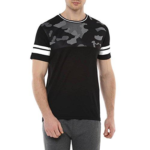 Ajile by Pantaloons Men's Cotton T-shirt_Black_L