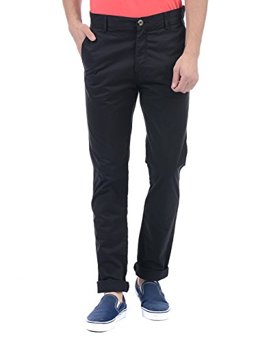 U.S.Polo.Assn. Men's Casual Trousers (8907036702491_USTR0469_32_Black)
