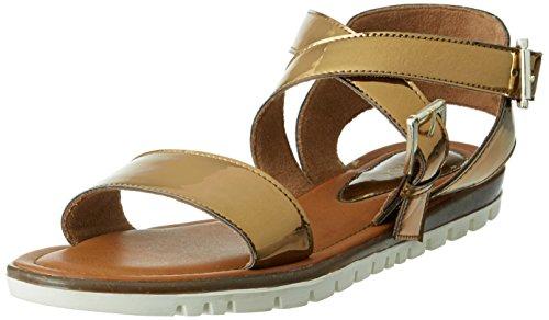 Catwalk Women's Bronze Fashion Sandals – 6 UK/India (38 EU)