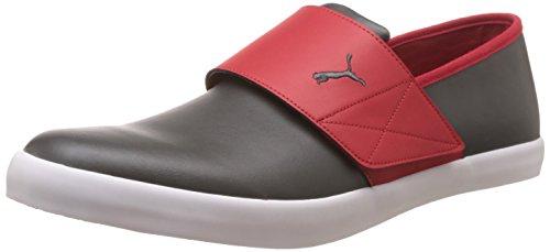 Puma Men's El Rey Milano II DP Dark Shadow, High Risk Red and Steel Grey Sneakers – 9 UK/India (43 EU)