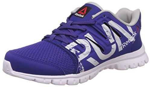 Reebok Women's Ultra Speed Purple, Skull Gry, Slvr and Wht Running Shoes – 7 UK/India (40.5 EU)(9.5 US)