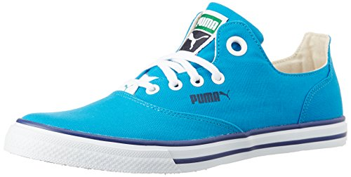Puma Unisex LimnosCAT3DP Blue Jewel, Peacoat, Glacier Grey and White Sneakers – 10 UK/India (44.5EU)