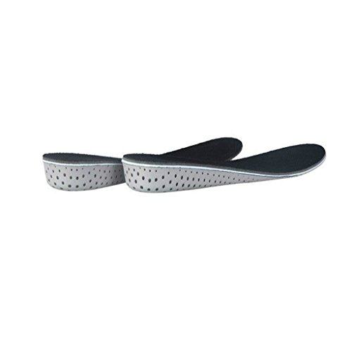 Generic Comfort Memory Foam Orthotic Arch Support Insoles Flat Feet Corrector Height Increase Pad Trimmable – 2/3/4cm – M