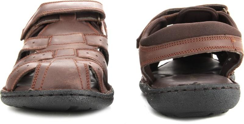 Hush Puppies Men Brown Sports Sandals