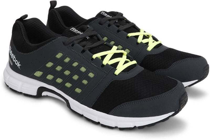 Reebok CRUISE RIDE Men Running Shoes(Black, Grey)