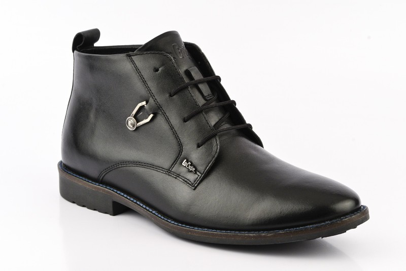 Lee Cooper Men Boots(Black)