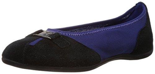 Puma Women's Saba Ballet DP Navy Blue, Black and Puma Silver Basic Safety Shoes – 4 UK/India (37 EU)