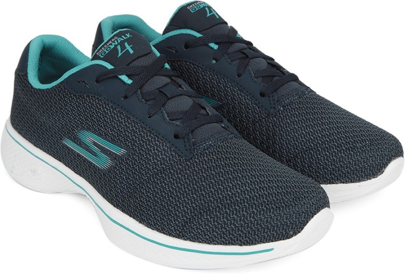 Skechers GO WALK 4 – GLORIFY Walking(Navy)