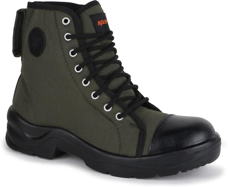 Sparx 9020 Casuals(Olive, Black)
