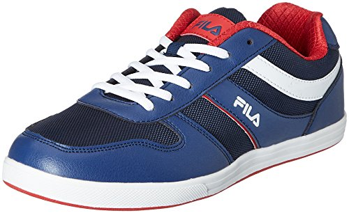 Fila Men's Aliza Navy and Red Sneakers -11 UK/India (45 EU)