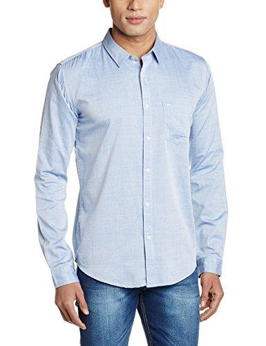 Basics Men's Casual Shirt (8907554089739_16BSH33903_Medium_Blue)