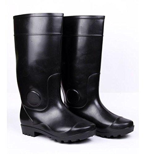 Hillson Century Safety Gumboots, Black, UK Size 8