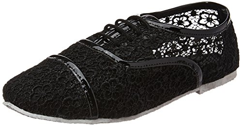 Lavie Women's Black Loafers and Moccasins – 4 UK/India (37 EU)