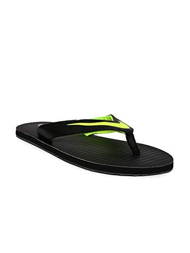 Nike Men's Chroma Thong 5 Black/Volt – Dark Grey Flip Flops (833808-013) (UK-9 (US-10))
