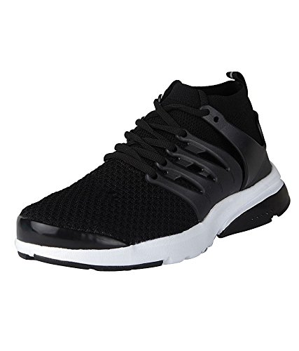 Vir Sport Air Men's Black Running Shoes (Size – 6)