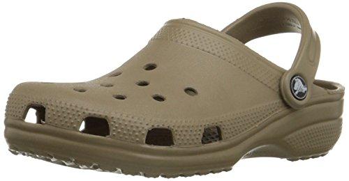 Crocs Men's Classic Khaki Croslite Clogs and Mules – M14