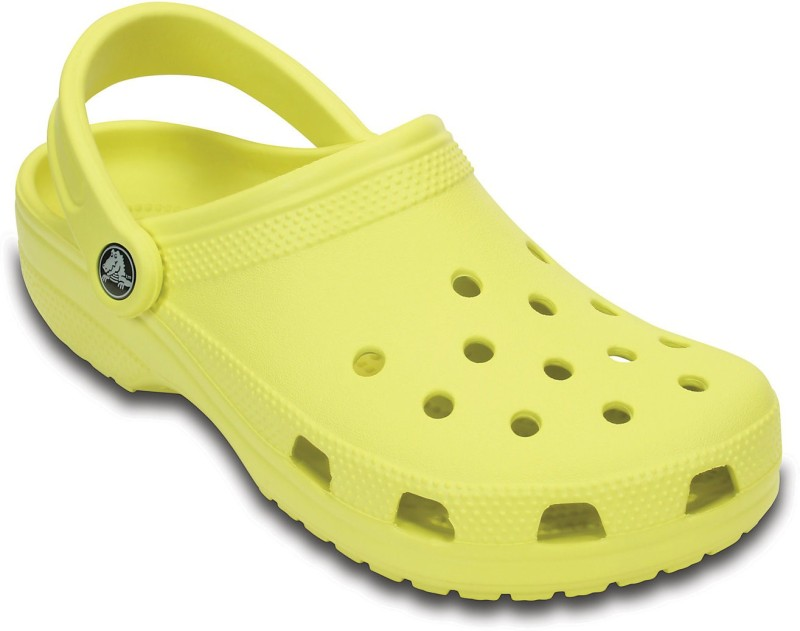 Crocs Men Chartreuse Clogs