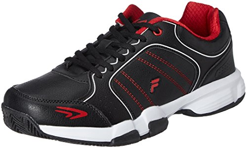 Fila Men's Set 6 Black and Red Tennis Shoes -6 UK/India (40 EU)