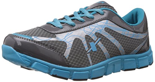 Sparx Women's Grey and Sky Blue Mesh Running Shoes – 5 UK (SX0071L)