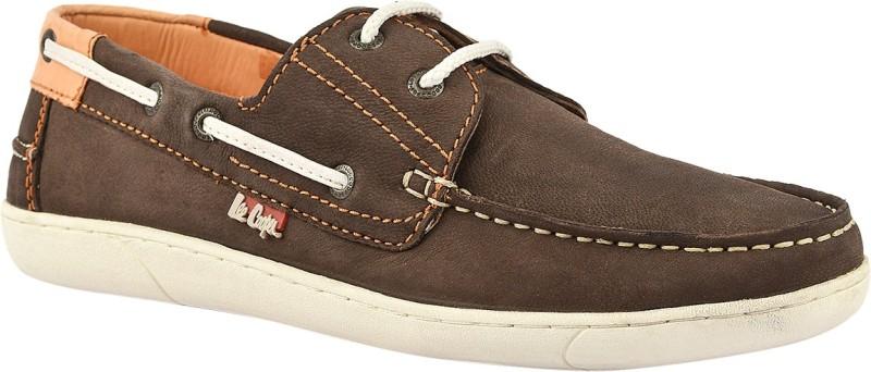 Lee Cooper Men Boat Shoes(Brown)