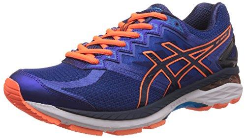 Asics Men's Gt-2000 New York 4 Deep Blue and Navy Running Shoes – 9 UK/India (44 EU) (10 US)