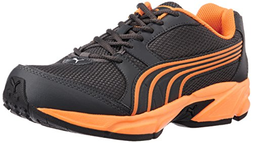 Puma Men's StrikeFashionIIDP Dark Shadow and Orange Pop Running Shoes – 6 UK/India (39 EU)